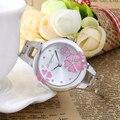 Mulheres relógios De Luxo famosa marca de Relógios Das Senhoras das mulheres do sexo feminino das mulheres de vestido Relógios de Pulso Relogio Femininos 2016 De Quartzo-relógio