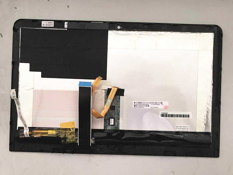 11.6'' Genuine Original Full Display Assembly fit for Lenovo ThinkPad X1 Helix Laptop Touch Digitizer LCD Screen 04X0374 14 inch lcd display touch screen for lenovo thinkpad x1 carbon lcd screen touch digitizer assembly lp140qh1 sp a2 display lcd