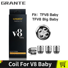 Grante TFV8 Baby Coils Replacement Vape Coil TFV8 Baby T8 X4 M2 Q2 Mesh Core Coils.jpg 220x220 - Vapes, mods and electronic cigaretes