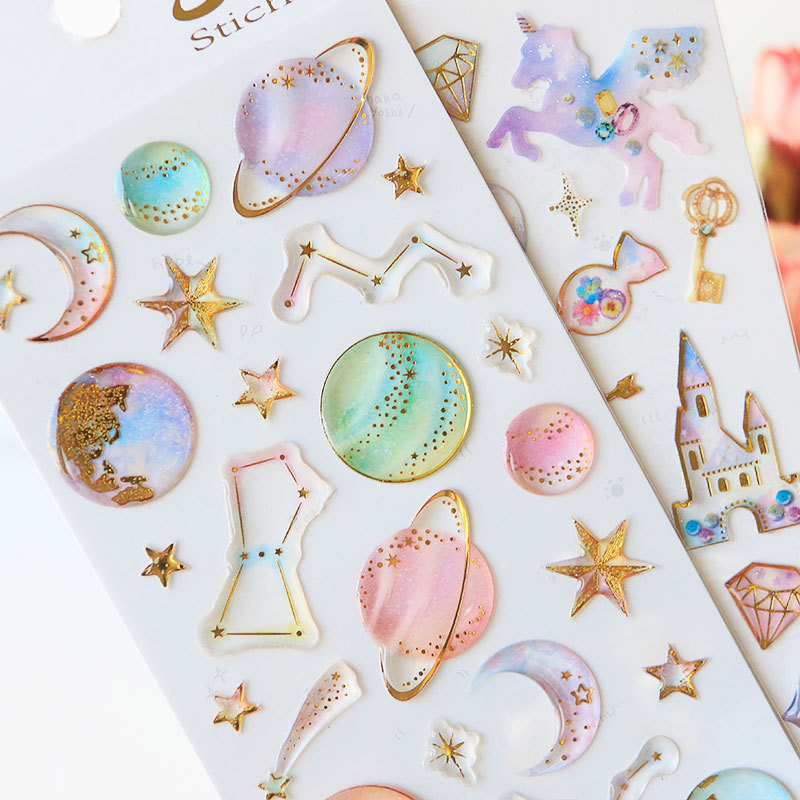 Sweet Dream Star & Unicorn Stickers 4
