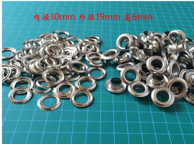 1000 pcs 19mmx10mmx6mm AD Flag Eyelets Solid Metal Eyelets for Leather Craft Grommet Banner-in Garment Eyelets from Home & Garden on AliExpress - 11.11_Double 11_Singles' Day 1