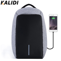 KALIDI Anti Theft Waterproof 17 3 Laptop Backpack Men External USB Charge Notebook Backpack For Women