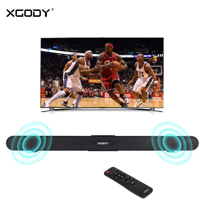 Xgody S XS01 40W Bluetooth Sound Bar TV Speaker Wired Wireless Speaker 34 2 0 Channel