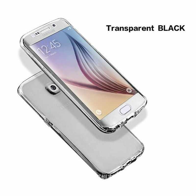Двусторонняя ТПУ чехол для телефона для samsung galaxy J7 J3 J5 2016 ультратонкий прозрачный мягкий чехол для J5 J7 2017 J3 J5 J7 Pro премьер