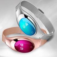 Smart Bracelet Wristwatch Smart Wristband Lady Switch Smart Watch Heart Monitor Band 2 for XiaoMI Watches Blood Pressure Gift