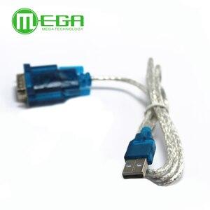 Image 3 - Nuevo HL 340 adaptador de Cable USB a RS232 COM puerto Serial PDA 9 pin DB9 soporte Windows7 64