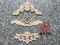 Não se esqueça de uma madeira madeira Dongyang mobiliário porta do armário flor fundo da parede da janela da porta do decalque decoração da porta flor floral Um