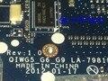 El vendedor prometió trabajo caliente en rusia nuevo envío libre la-7981p placa madre del ordenador portátil para lenovo g580 notebook pc