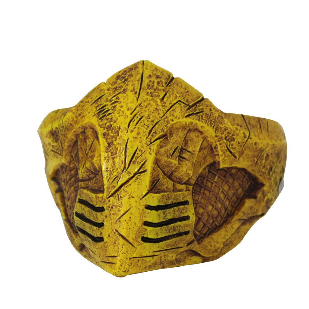 Mortal Kombat X Mask Cosplay Scorpion Halloween Party Mask Costume