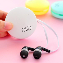 New Macaroon Earphones Girls Cute Earphone with Mic for iPhone Xiaomi Samsung Phone Laptop MP3/4 Player PC for Gifts