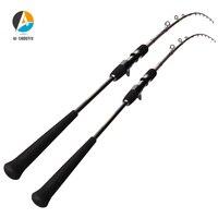AI SHOUYU Toray Carbon Slow Jigging Rod 1.98m 4AXIS 180 Degree Spiral Guide Ring Carbon Cloth Casting Rod EVA GRIP Casting Rod