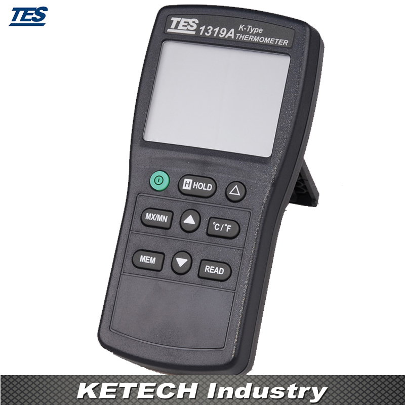 TES-1319 Portable K Thermocouple Thermometer -58~1999F mary tes w15102142288