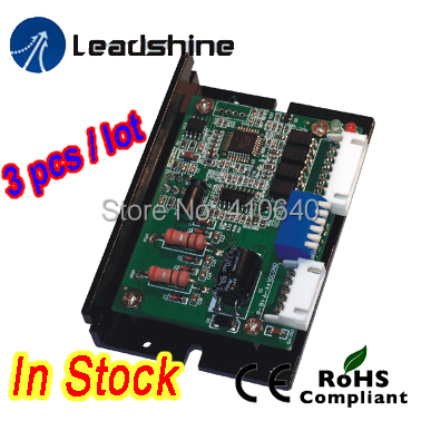 Free shipping 3 pieces per lot Leadshine DM320C 2 Phase Digital Stepper Drive Max 30 VDC / 2.0A 2pcs lot leadshine 2 phase high precision stepper drive am882