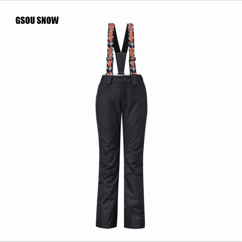 GSOU SNOW Brand Women Ski Pants Waterproof Pants Winter Outdoor Skiing Snowboarding A variety of styles, multiple colors can be