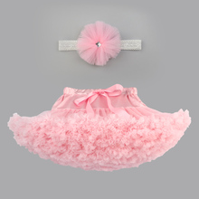 Fashion Baby Girls Tutu Skirts Princess pettiskirt with headband ballet dance tutu skirt Kids party costume 0-8 Ys