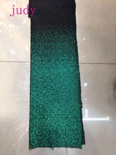 5yards/bag  XX79# Dense sequins gradient colors fashionable fabric used for wedding gift stage parties Free shipping