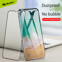 Benks For IPhone X XPRO Ultra Full Cover Glass With Curved Rounded Edges 0 23mm Front