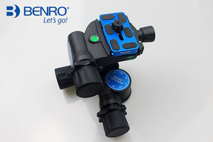Image 4 - Benro Pro 3 Way Geared Gear Drive Tripod Head   GD3WH