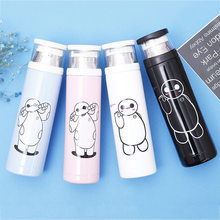 Stainless Steel Vacuum Cup Cartoon Totoro Dabai Vacuum Cup Will Capacity Student Portable Heat Preservation Water Bottle(China)