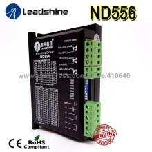 Free shipping! Leadshine Stepper motor Drive ND556 Max current 5.6 A for NEMA23 motor leadshine network drives dm3e 556 series ethercat stepper drives with coe and cia 402 protocols control stepper motor nema23 24