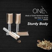shank כלים Tideway 8mm Shank ישר נתב עץ Bit Set קרפנטר גַיֶצֶת חיתוך טונגסטן קרביד End Mill כלים לעיבוד עץ (2)