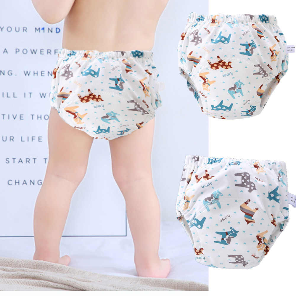 2pcs Waterproof Toddler Training Pants Girls Potty Cotton Washable Toilet Training Nappy Skirt for 0-6 Years Baby Boys Girls CIVIKY Baby Diaper Skirt2 in 1