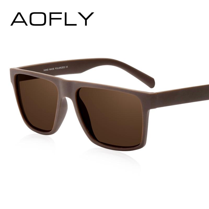 Aofly merk classic zwart gepolariseerde zonnebril mannen rijden - Kledingaccessoires - Foto 3