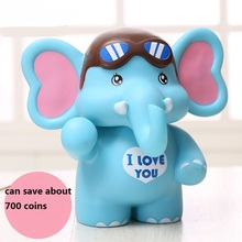 Elephant save money pot creative large piggy bank cute cartoon is not afraid of throwing children fashion gift