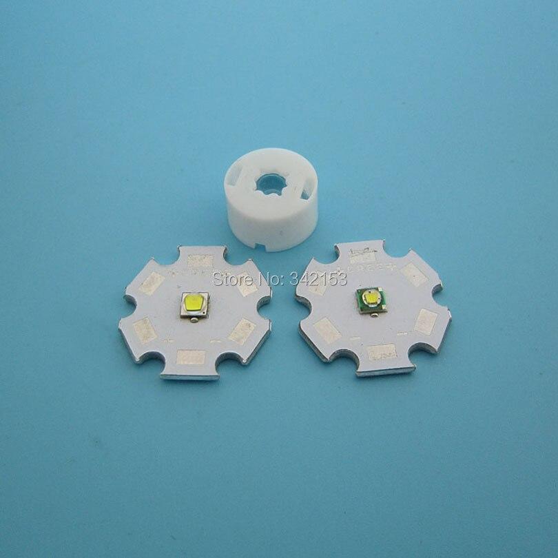 Dimmer Für Led Len 100pcs 13mm pmma led lens with white holder for cree xpe xte xpg