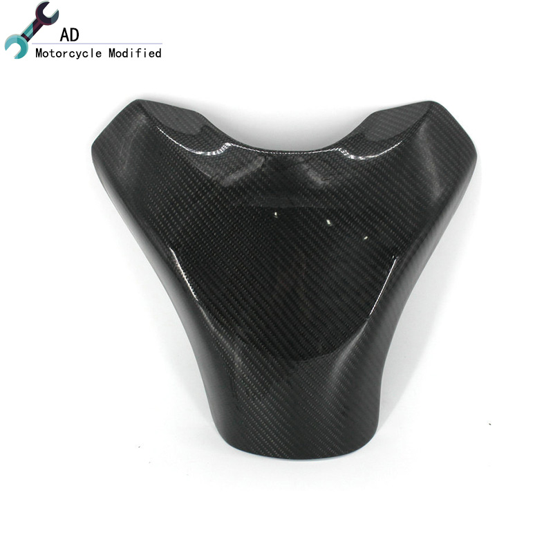 Motor For Yamaha YZF R1 2014 2013 Carbon Fiber Fuel Gas Tank Cover Protector Tank Pad Cover YZF-R1 2010 2009 Motorcycle Parts # black color motorcycle accessories carbon fiber fuel gas tank protector pad shield rear carbon fiber for kawasaki z1000 03 06