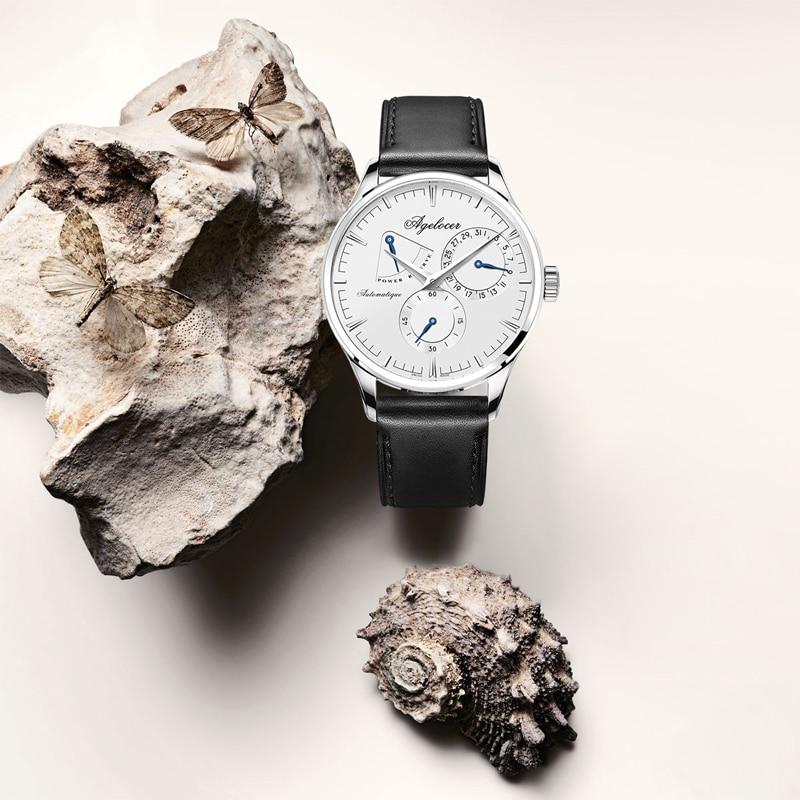 AGELOCER hommes montres Top marque de mode montre hommes d'affaires conception spéciale montres Sport montres Relogio Masculino pour cadeau - 2