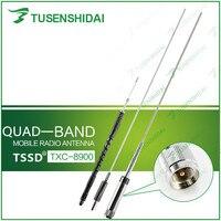 High Quality CB/VHF/UHF Quad Band 29/50/144/430MHZ Mobile Car Antenna for TYT TH 9800