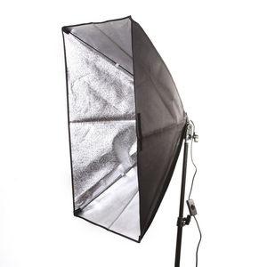 """Image 2 - 50x70 cm/20 """"x 28"""" Studio Licht Softbox Paraplu E27 Socket Licht Lamp Hoofd verlichting"""