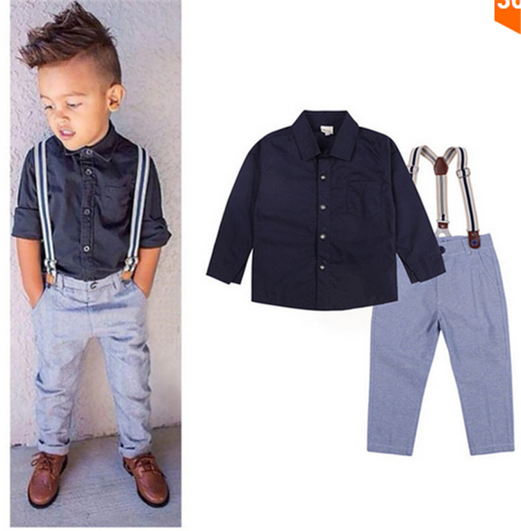 Popular Baby Boy Suspender Outfit-Buy Cheap Baby Boy ...