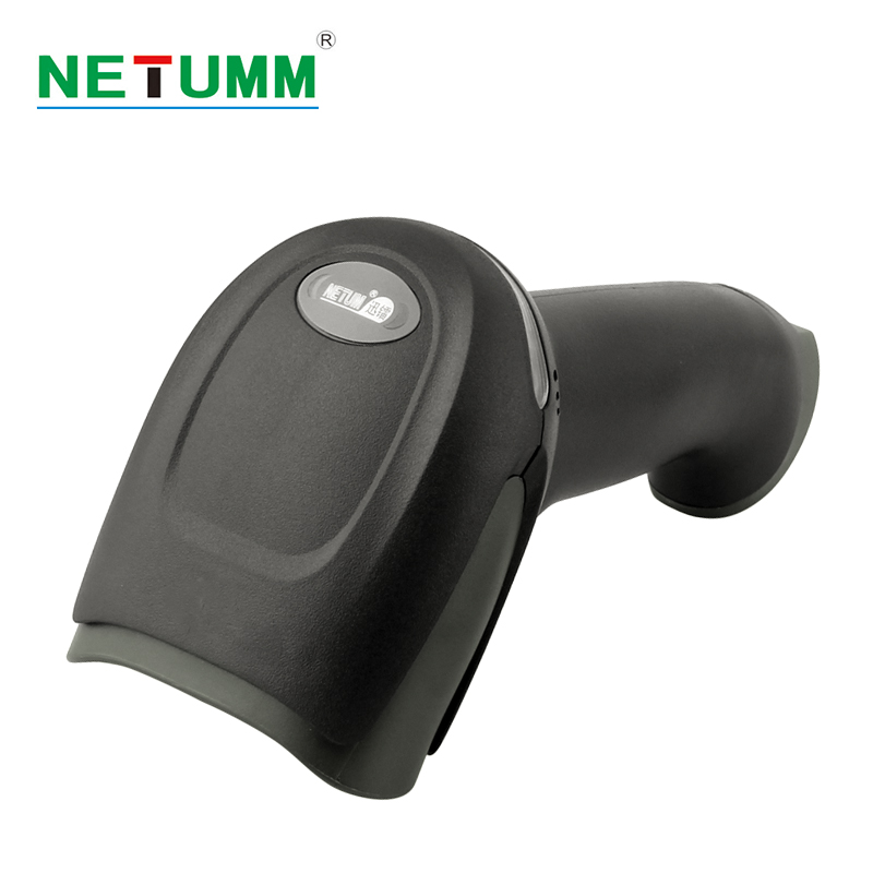 NETUM wireless Laser Barcode Scanner portable NT-2028 long Range Cordless Bar code for POS inventory USB reader mobile payment free shipping data inventory management report wireless wired 1d ean13 upca e laser barcode scanner