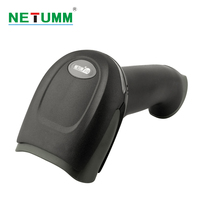 NETUM Wireless Laser Barcode Scanner Portable NT 2028 Long Range Cordless Bar Code For POS Inventory
