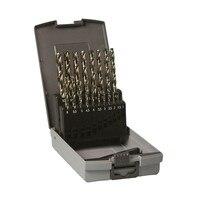 HIKOKI 780698 Set wiertła do metalu HSS CO DIN 338 19 sztuk. 1 10mm w Akcesoria do elektronarzędzi od Narzędzia na