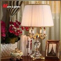 Modern Crystal Lamp lighting bedroom bedside lamp luxury fashion crystal table lamp Abajur