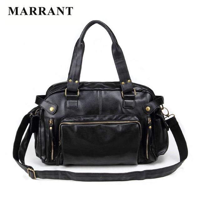 MARRANT 2016 Oferta Especial homens Do Vintage mensageiro sacos de couro PU bolsas de Grife de alta qualidade bolsa de viagem grande capacidade Homens Sacos