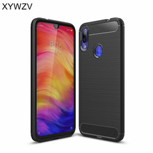 Xiaomi Redmi Note 7 Case Shockproof Armor Rubber Silicone Phone Back Cover Fundas ^