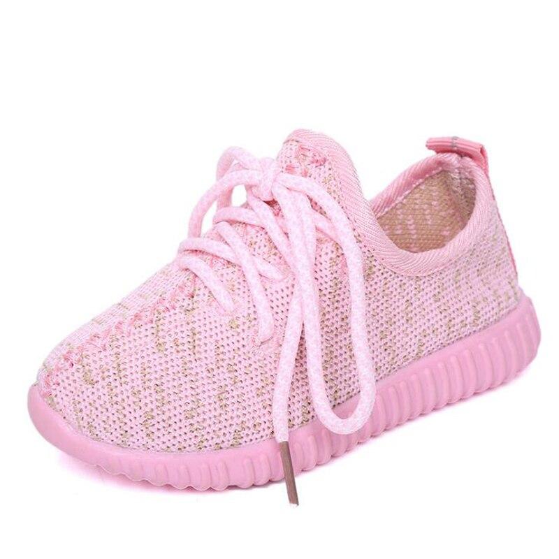 2018 Herbst Mode Kinder Sneaker 1 Zu 12 Jahre Alt Baby Junge Mädchen Sport Schuhe Kinder Casual Schuhe Kleinkind Gute Laufschuhe Ausgezeichnet Im Kisseneffekt