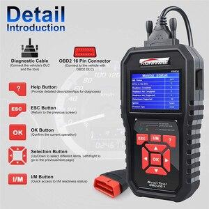 Image 3 - KONNWEI KW850 OBD2 Auto Diagnose Scanner ODB2 Überprüfen Motor Automotive Auto Code Reader Schwarz Universal OBD Auto Diagnose Werkzeug