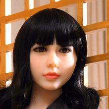 Real Silicone Sex Dolls Head For Japanese Love Doll Heads With Oral Sexy for Body From 140cm to 170cm height