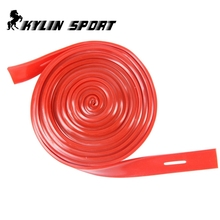 Long resistance bands  10m red band Tensile strength training exercise with elastic