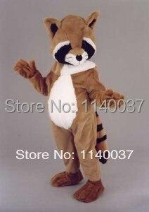 Mascotte raton laveur mascotte costume personnalisé cosplay dessin animé personnage carnaval costume fantaisie costume fête