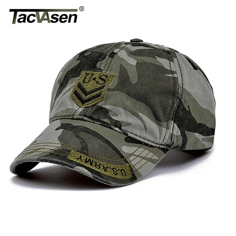 TACVASEN Tactical Baseball Caps Army Men s Cap With Adjustable Head Fashion Baseball  Caps for Men Women 66a994f5f5c5