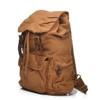 canvas Backpack with Removable Inner Bag School Military Bag Muchuan 2105ND