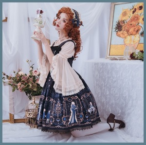 Image 4 - Astrology College ~ Sweet Printed Midi Party Dress Lolita JSK Dress