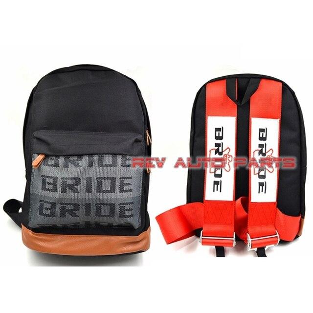 Red/black/blue Racing Harness Shoulder Straps JDM Bride Racing Bag