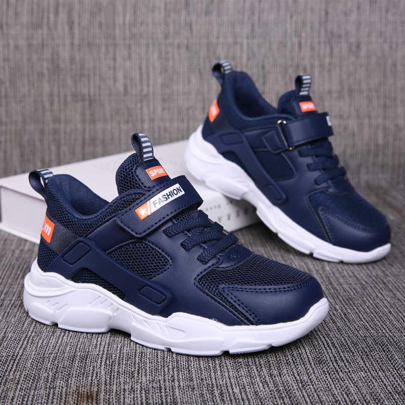 ULKNN erkek ayakkabı 2020 sonbahar 6 çocuk Boys 12 spor ayakkabı 15 yaşında 10 çocuk 9 beyaz siyah mavi ayakkabı öğrenciler için sneakers